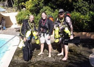 Technical diving in January - Sunny and bright !!!