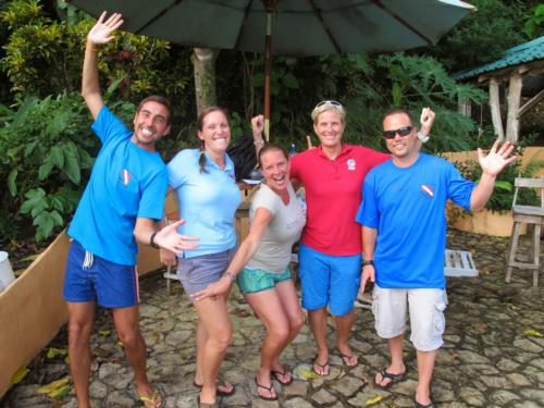 Congratulations to our PADI Instructor candidates - onwards into July!