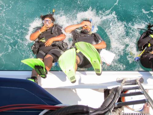 Scuba Diving is not for everyone - How do you recognize that and work with your students ?