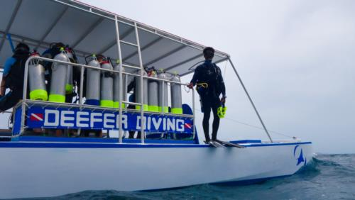 New Catamaran Dive Boat Launches in Carriacou