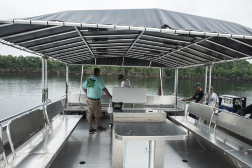 New Dive Boat for Summersville Lake, WV