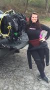 Glori from Southbridge MA | Scuba Diver