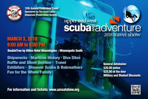 Upper Midwest Scuba & Adventure Show