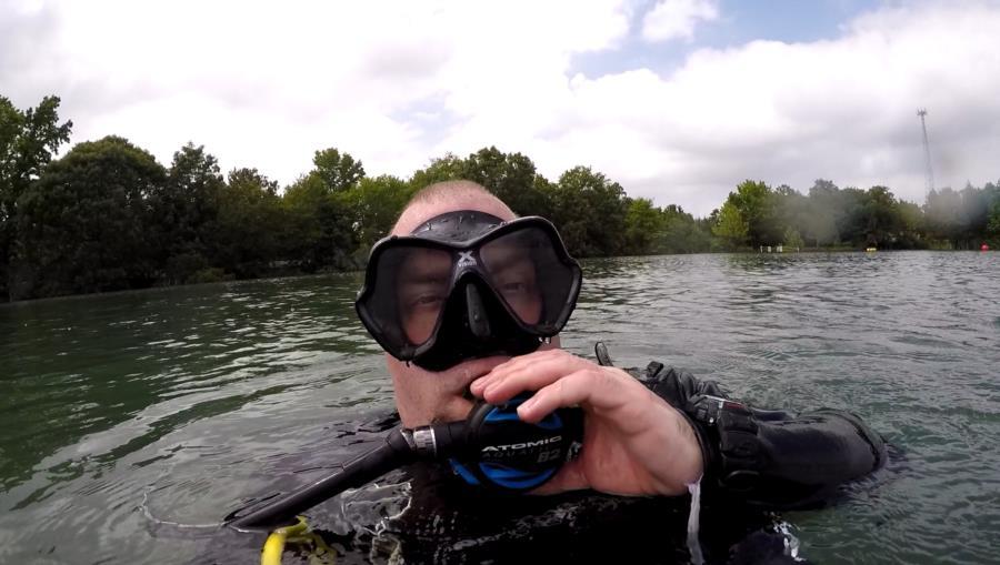 Athens SCUBA Park - Dive Buiddy Adam