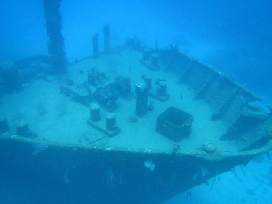 Wreck of El Aguila (El Aguilar) (The Eagle) - Deck