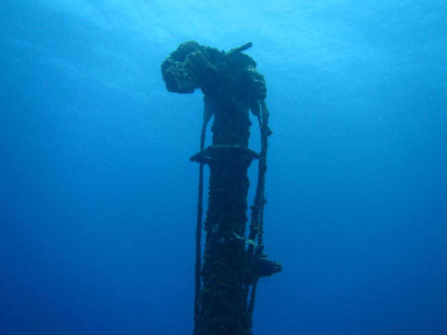 Wreck of El Aguila (El Aguilar) (The Eagle) - Mast