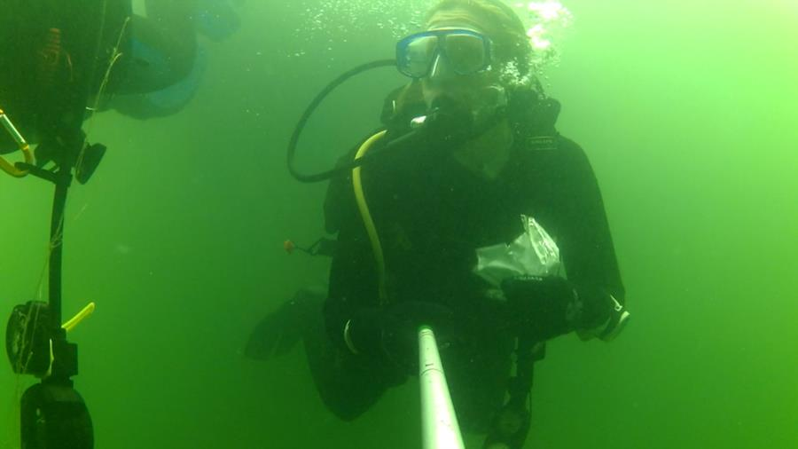 Wheeler Branch Lake - Dive Buddy Julee - AOW PADI