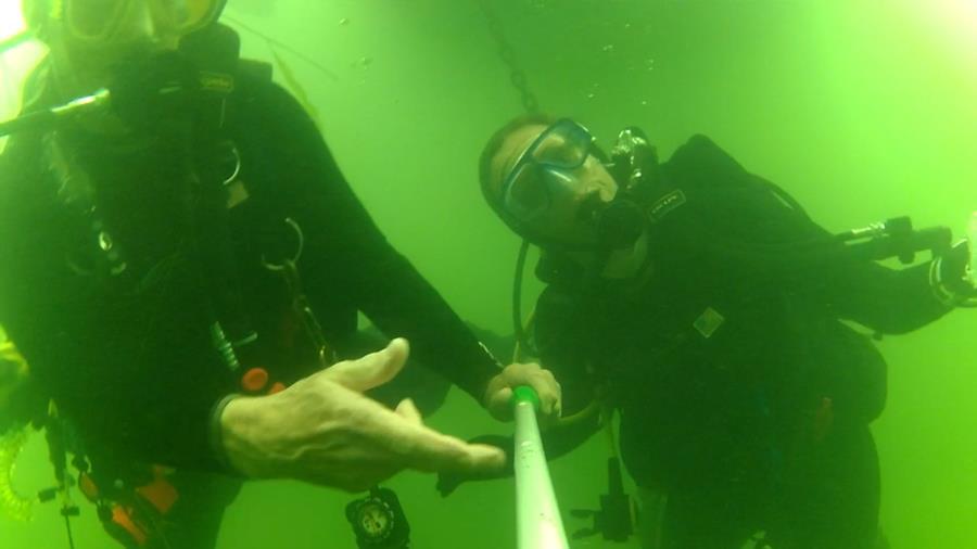 Wheeler Branch Lake - Dive Buddy Julee - AOW PADI