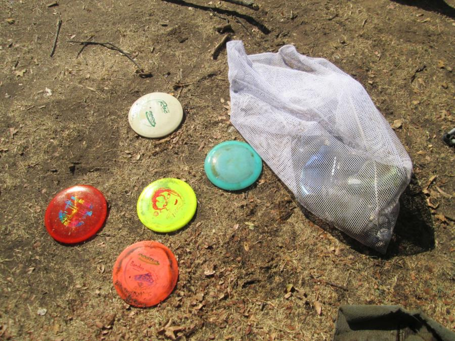Lake Lewisville - Lake Park Disc Golf Course - Disc golf discs