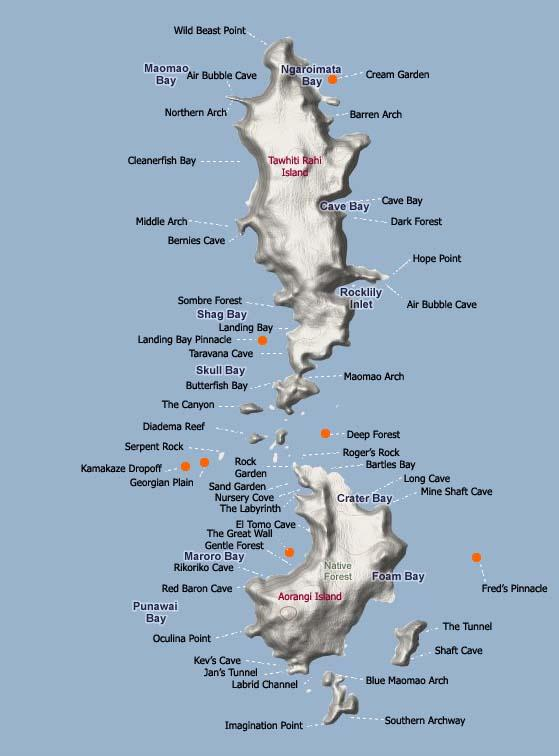 Poor Knights Islands - Poor Knight Islands