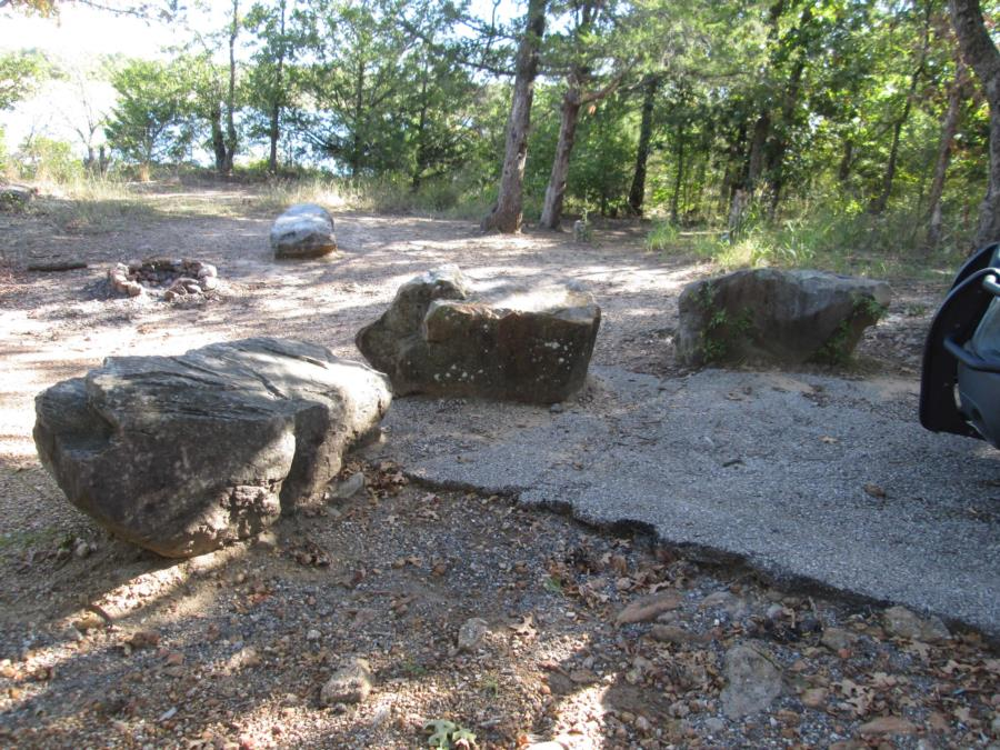 Lake Murray State Park - Three Rocks - Lake Murray State Park - Three Rocks site