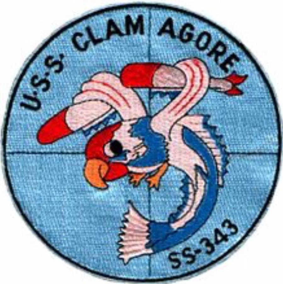 USS Clamagore - Skips logo