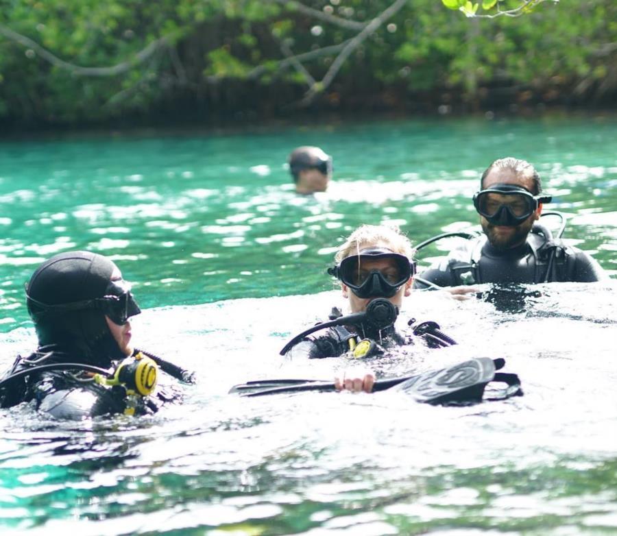 Grand Cenote Mexico - Diving trip