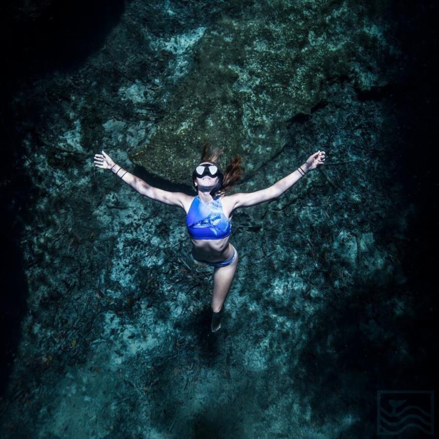Grand Cenote Mexico - Snorkeling