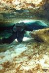 Ginnie Springs - Rounding the corner of the Lips