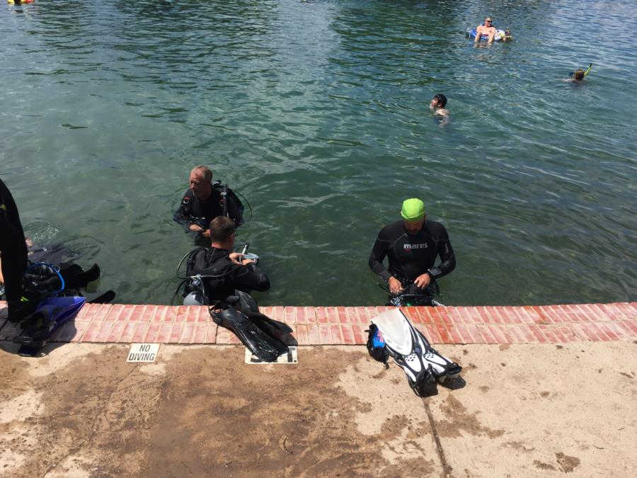 Balmorhea State Park - Geared up