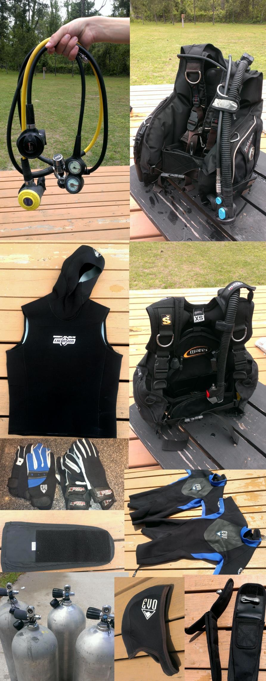 Various Scuba Gear For Sale Near Houston TX