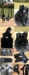 Various scuba gear for sale near Houston TX