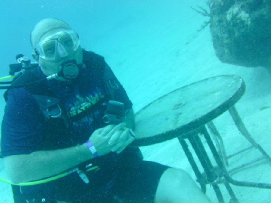Diving in Key Largo