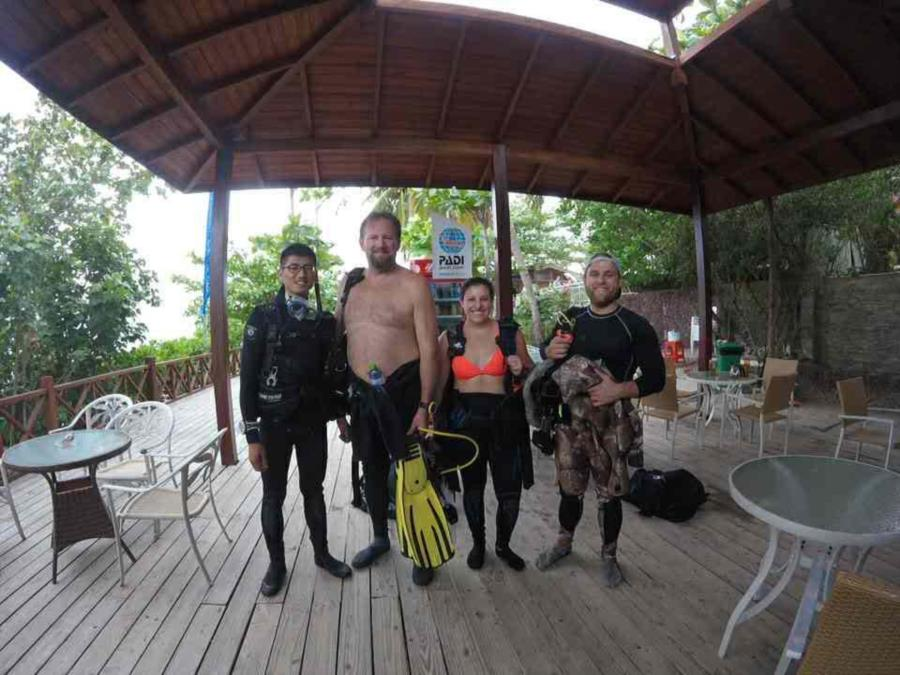 Sanya Diving PADI shop