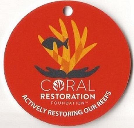 Bonaire Coral Restoration BCD Tag
