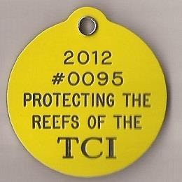 Turks & Caicos Reef BCD Tag