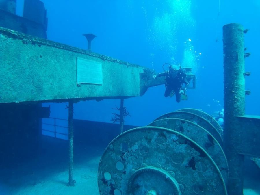 USS Kittywake Grand Cayman