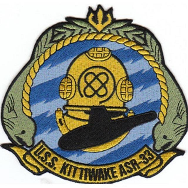 USS Kittywake Patch