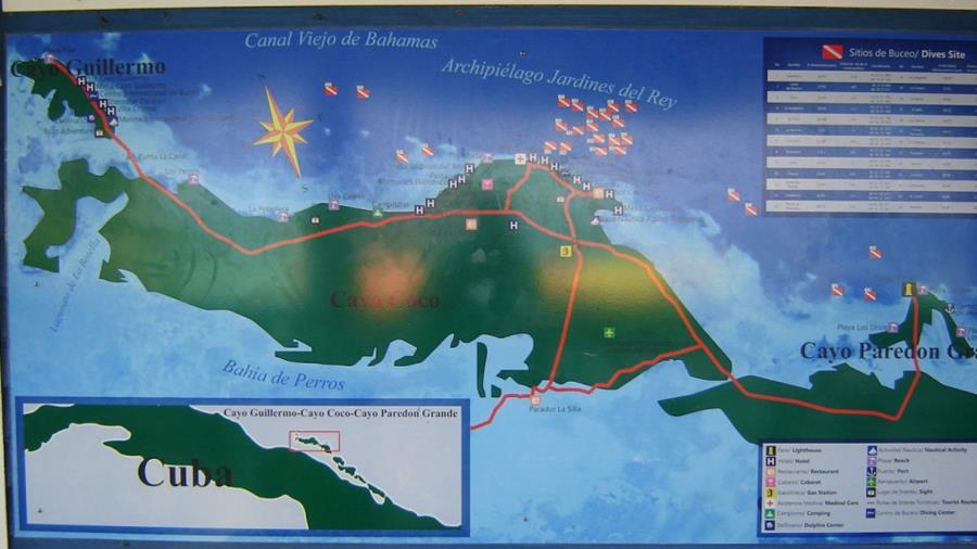 Cayo Coco Cuba Dive Sites