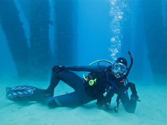 Tengan Pier dive