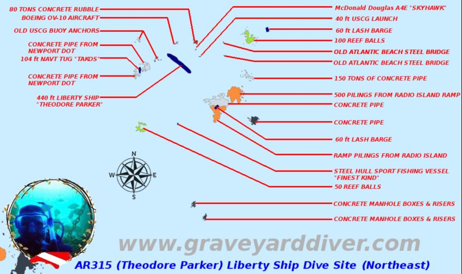 The Theodore Parker wreck
