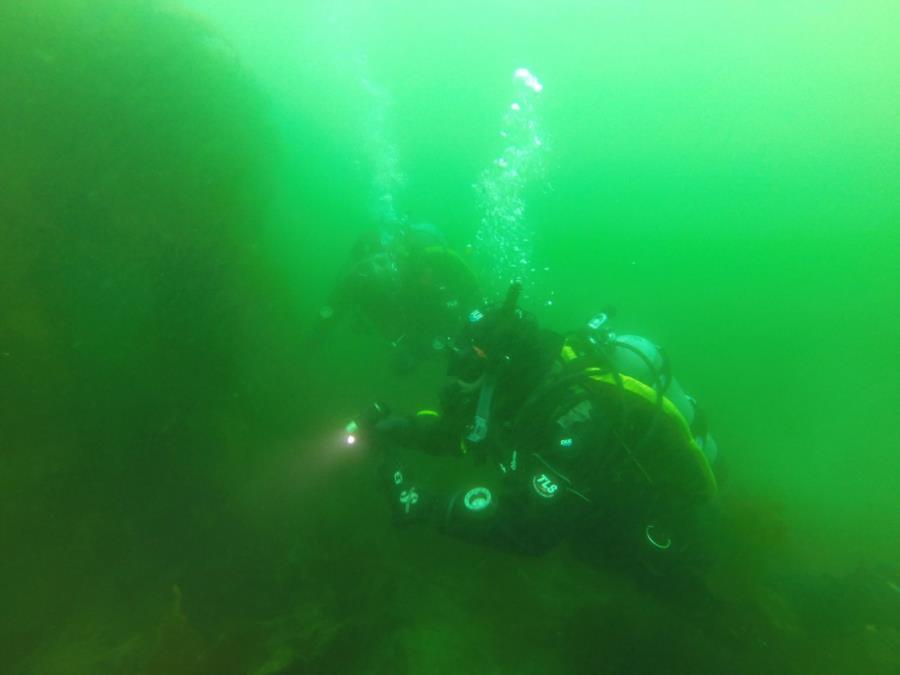 Meranda and Larry in Smitty's Cove of Whittier, AK (03/26/2017)