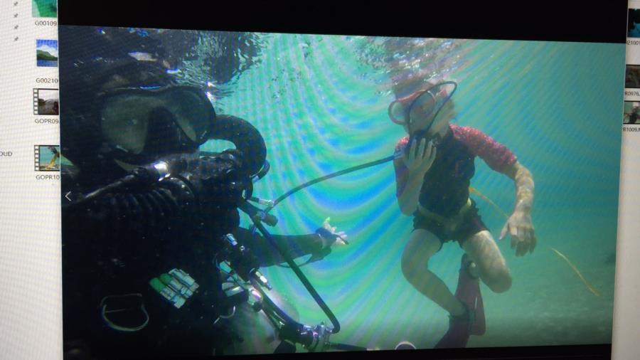 CCR fun diving