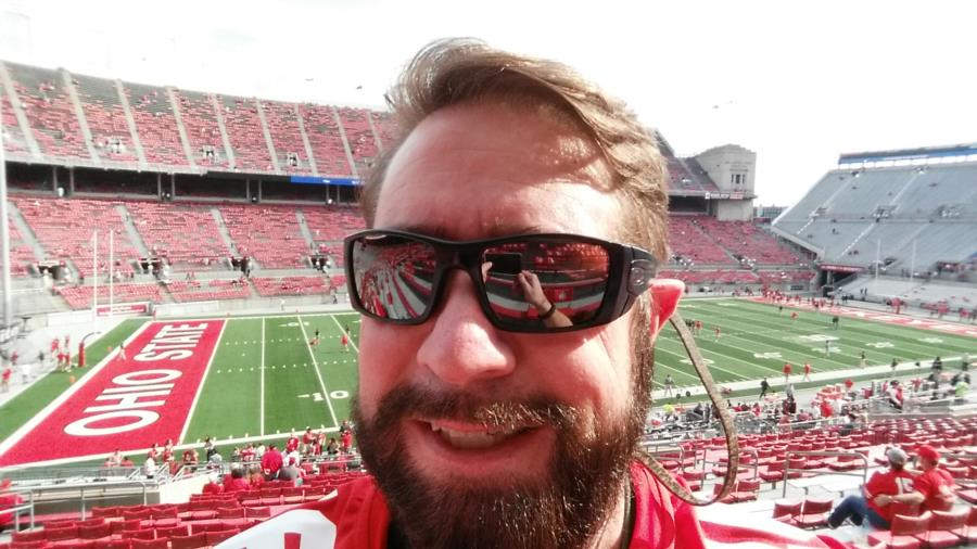 Me at the Ohio State & Northwestern Oct 2016