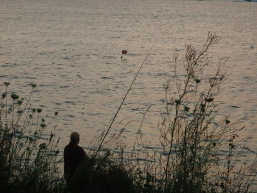 Inconsiderate fishermen