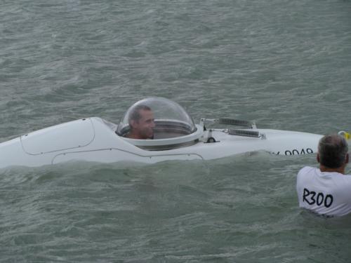 R300 3rd Open Water Test