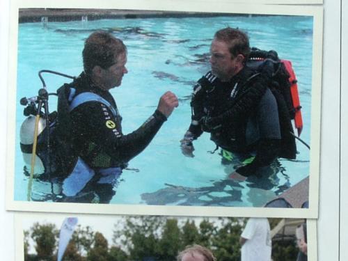 My dive info