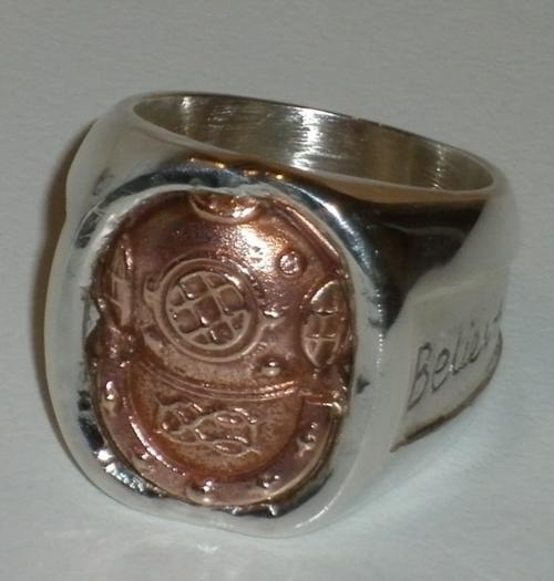 Divers Ring - Personalized