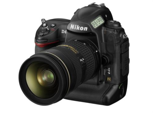 The new Nikon D4 has just been announced