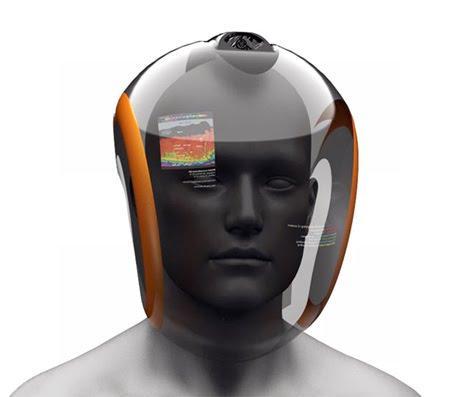 Future Design: Scuba helmet that turns water into oxygen