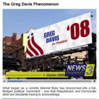 Greg Davis for President in 2008