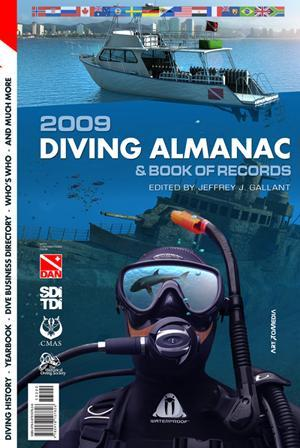 Diving Almanac Book of Records at Our World-Underwater