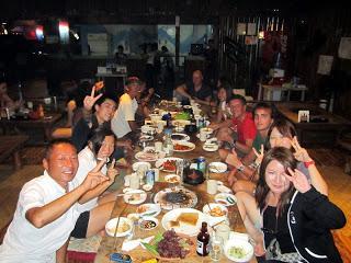Dive instructor parties and future career, Mactan, Cebu