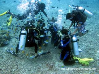 Dive Master Training DMT, Dive sites in Boracay, DSD and Full moon party (Day 29)