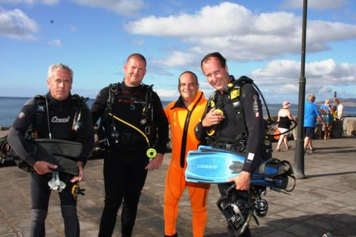 Diving Journalists Visit Lanzarote