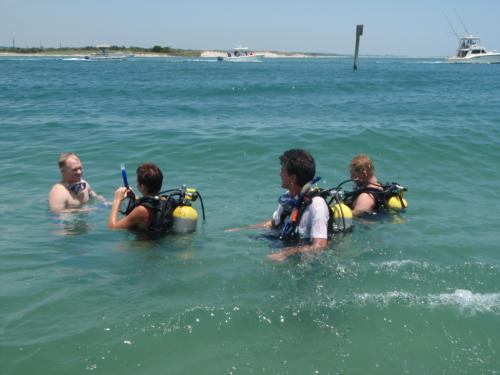 Radio Island Dive