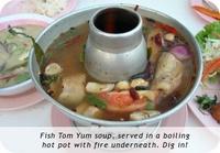 Eating like a thai
