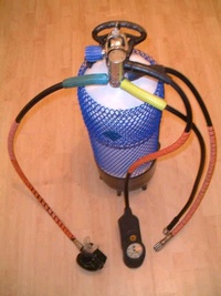 Single Hose Open Circuit Scuba