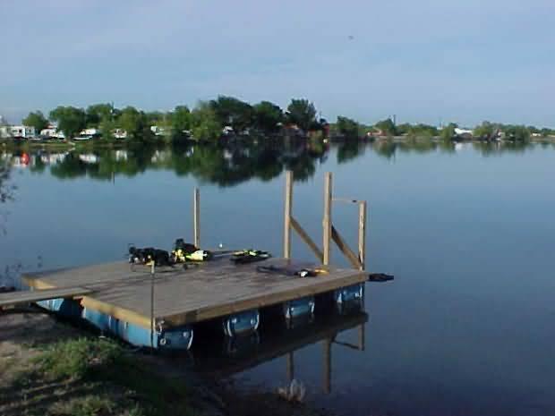 Twin Lakes Scuba Park - Dock