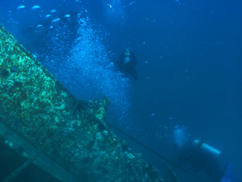 Texas Clipper - Divers in the Clipper waters